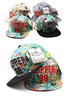 Brazil jungle parrot snapback Flippe 88 baseball cap street fashion snapback hat #Flipper #snapback