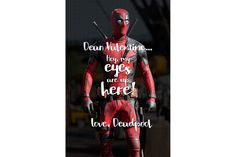Share These Deadpool V-Day Cards With Whomever You're Boning