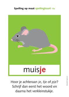 TOM2 SP spellingkaarten Spelling, Abs, Learning, Poster, Fictional Characters, Homework, Grammar, Dutch, Random