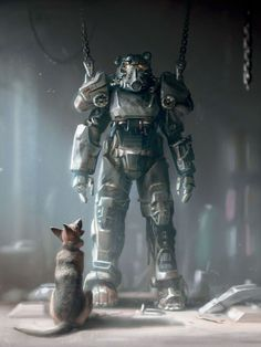 Fallout 4   Dogmeat & Power Armor