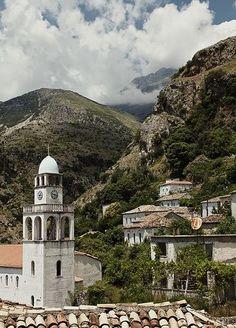 Church in Dhermi, Albanian riviera