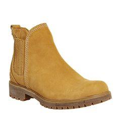 Timberland, Lyonsdale Chelsea Boots, Wheat Nubuck