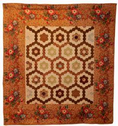 19th c hexagon crib spread