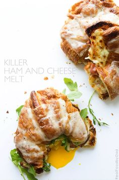 Killer Ham and Cheese Melt #recipe from @realfoodbydad