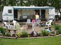 Rv Garden Ideas Campsite Decorating Search Of Eden Herbals