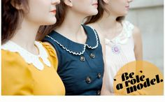 "Good message, and COLLARS.  It's Modcloth's ""Sharp"" Collection."
