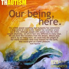 Autism quote by Thautism on facebook