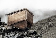 Gallery of The Glacier Shelter Built from Nothing but Wood - 27
