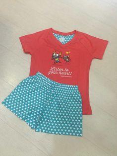 Pijama Mujer Kukuxumusu Vacaline Run. www.patasarribashop.com