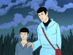 spock   Spock, young and old