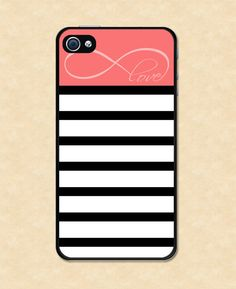 Love this IPhone case with the love infinity symbol on it!