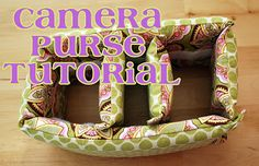 Bark and Giggle Boutique: Camera Purse Tutorial!