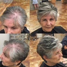 Beautiful Pixie Cuts for Older Women 2019 Beautiful Pixie Cuts for Older Women Short haircut is an important element that makes your life easier, saving you lots of time in your daily life. Thin Hair Cuts, Short Thin Hair, Short Grey Hair, Short Hair Cuts For Women, Black Hair, Long Hair, Very Short Hair, Mom Hairstyles, Haircuts For Fine Hair