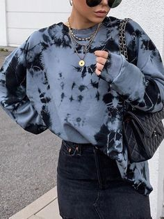 Watch Fashion Trends To Keep Your Style Updated – Fashion Trends Tie Dye Fashion, Look Fashion, 90s Fashion, Womens Fashion, Looks Street Style, Looks Style, Outfit Leather Jacket, Mode Outfits, Fashion Outfits