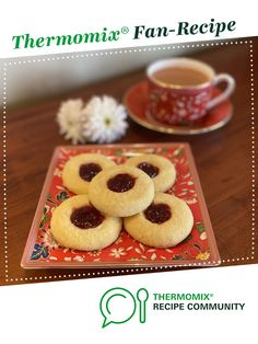 Jam Drop Biscuits by Janine Smith. A Thermomix <sup>®</sup> recipe in the category Baking - sweet on www.recipecommunity.com.au, the Thermomix <sup>®</sup> Community.