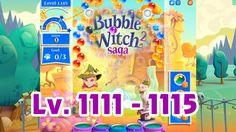 Bubble Witch Saga 2 Level 1111 - 1115 (1080p/60fps)