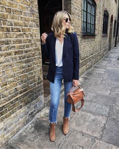 Winter Womens Fashion Trends And Styles Mode Outfits, Casual Outfits, Fashion Outfits, Fashion Trends, It Bag, Fast Fashion, Womens Fashion, Estilo Denim, Look Blazer