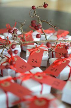 DIY Gör egen, riktig chokladkalender till jul | Hemma med Helena