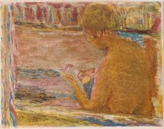 La Baignoire. The Bathtub. 1942-43. Pierre Bonnard