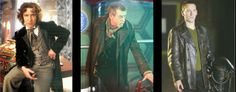 +1 Geek: Magazine Photo of John Hurt in Doctor Who Reveals 8th and 9th Doctor Costume Details