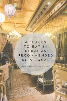 6 places to eat in Dubai as recommended by a local who's tried almost all Dubai has to offer