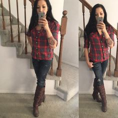 #ootd from thanksgiving  The boots are from @justfabonline, everything else was ancient stuff from closet. ♦️♦️♦️ #outfit #outfitoftheday #outfitpost #petitefashion #petite #petitestyle #fivefootnothing #fashion #fashionpost #fashionblogger #fashiondiaries #fashionblog #style #styleblogger #stylepost #fallfashion #fallstyle #winterfashion