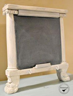 Large Repurposed Architectural Chalkboard  www.homeroad.net