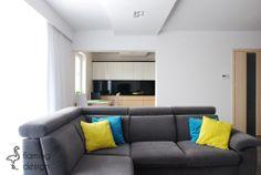 SR House - Salon - Styl Nowoczesny - Flaming design