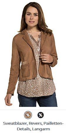 Erhältlich im online shop von gina-laura.com mit 8% Cashback für KGS Partner Kai, Im Online, Leather Jacket, Jackets, Shopping, Fashion, Sequins, Studded Leather Jacket, Down Jackets