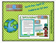 Kindergarten Crayons: Finally A Freebie: Celebrate Earth Day With Your Kindergarten