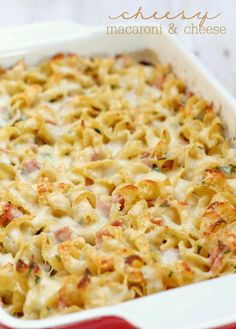 Cheesy Mac and Chees