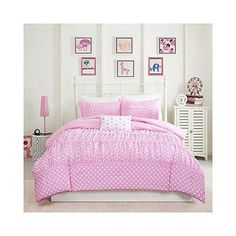 Mizone Lia 3 Piece Comforter Set, Pink, Twin/twin X-large #MiZone