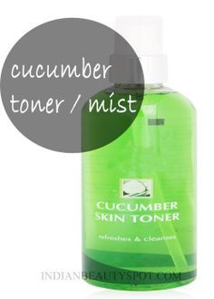 cooling skin toner / mist for naturally glowing skin