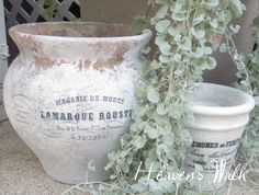 DIY French Flower Pots!One Good Thing by Jillee | One Good Thing by Jillee