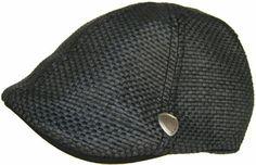 Ben Sherman Straw Driver Duckbill Ivy Scally Cap Lightweight Summer Golf Beach Hat $45.00