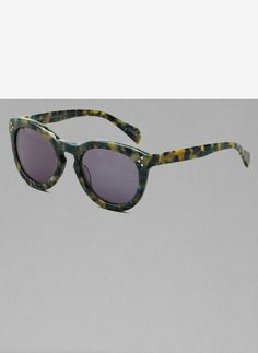 Uterqüe France - Lunettes vertes acétate  #fashion #sun #glasses