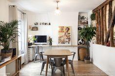 Rénovation d'un 3 pièces à Montmartre, PIXEL Architecture - Côté Maison