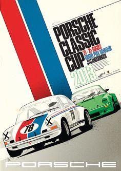 Porsche Classic Cup Poster