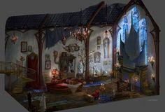 phantom's lair | Phantom of the Opera_Celine Kim_Phantom\'s Lair