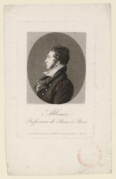 Pedro Albéniz y Basanta (1795-1855), engraving (1828), by Edme Quenedey (1756-1830).
