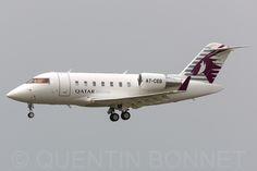 https://flic.kr/p/sEe4SL | Qatar Executive Canadair CL-600-2B16 Challenger 605 A7-CEB