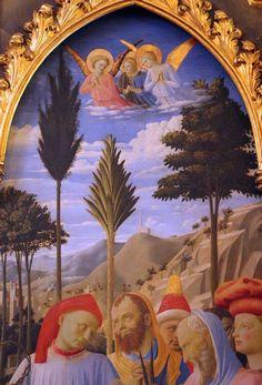 Beato Angelico, Deposizione dalla Croce (Pala Strozzi) dettaglio, 1437-1440 circa, Firenze, Museo Nazionale di San Marco
