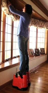 Short people solutions! OMG YES!! hahaha!!