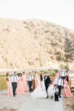 Serendipity Garden Weddings | Oak Glen, CA Vintage glam mountain wedding: http://www.stylemepretty.com/little-black-book-blog/2014/07/25/vintage-glam-mountain-wedding/ | Photography: http://candicebenjamin.com/