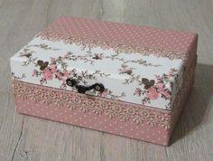 Αποτέλεσμα εικόνας για caixas de madeira decoradas com guardanapos