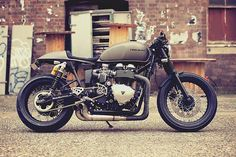 Motorrad Bild: Bonneville by Mean Machines