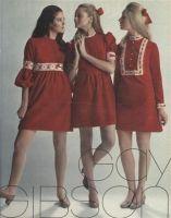 my vintage vogue : Gay Gibson 1969 Sixties Fashion, Mod Fashion, Teen Fashion, Fashion Models, Vintage Fashion, Womens Fashion, Fashion Tips, Junior Fashion, Latex Fashion