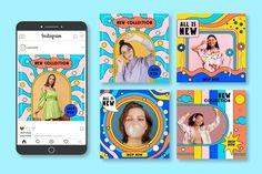 Case Study Design, Book Design, Social Media Banner, Social Media Design, Graphic Design Posters, Graphic Design Typography, Instagram Design, Instagram Posts, Art Restaurant