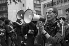 Leader Voice - Manifestation contre la loi travail. Paris, 26 mai 2016.