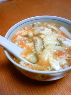 簡単☆本格!酸辣湯(サンラータン)スープ